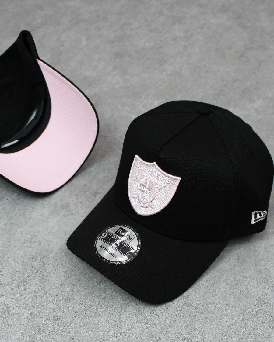 New Era 9Forty A-Frame Las Vegas Raiders Snapback Cap B/P