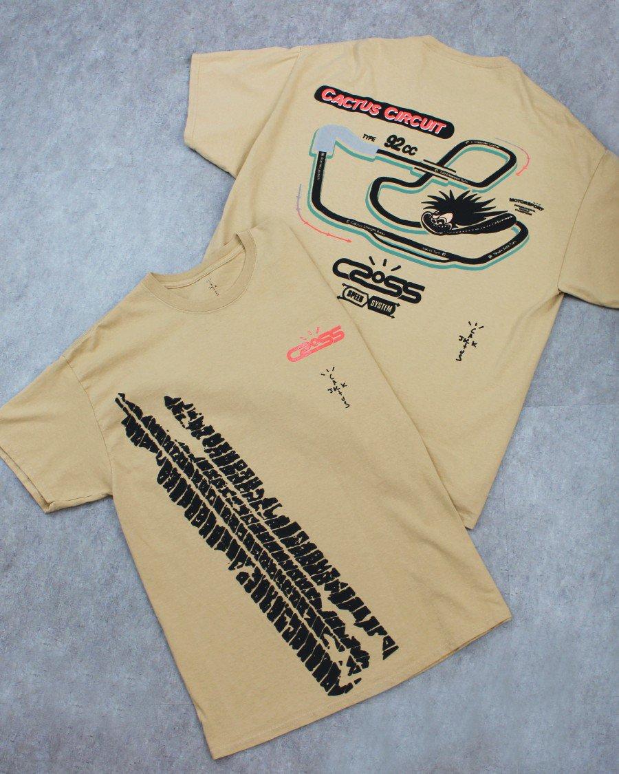 Cactus Jack Travis Scott Official Racetrack T-Shirt