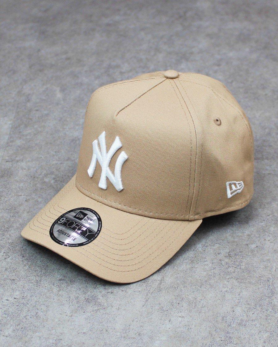 New Era 9Forty A-Frame New York Yankees Snapback Cap - Beige