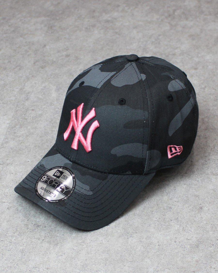 New Era 9Forty New York Yankees Camo Strapback Cap