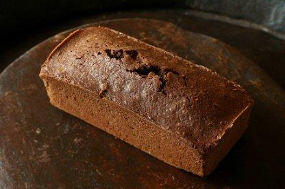 オーガニックチョコレートのパウンドケーキ