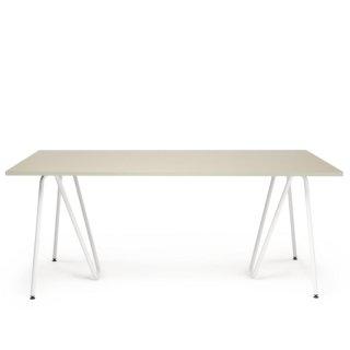 SINUS テーブル脚(ホワイト)