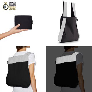 Nota bag(リフレクティブ ブラック)<img class='new_mark_img2' src='https://img.shop-pro.jp/img/new/icons16.gif' style='border:none;display:inline;margin:0px;padding:0px;width:auto;' />