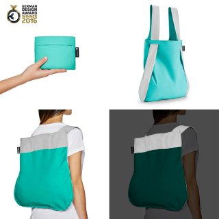 Nota bag(リフレクティブ ミント)<img class='new_mark_img2' src='https://img.shop-pro.jp/img/new/icons16.gif' style='border:none;display:inline;margin:0px;padding:0px;width:auto;' />