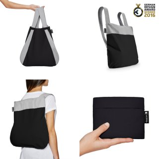 Nota bag(ブラック×グレー)<img class='new_mark_img2' src='https://img.shop-pro.jp/img/new/icons16.gif' style='border:none;display:inline;margin:0px;padding:0px;width:auto;' />