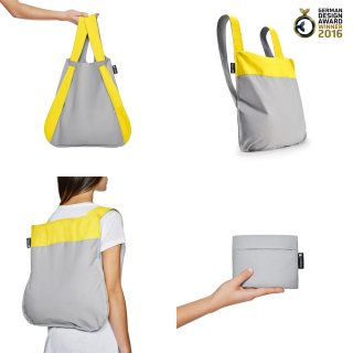 Nota bag(イエロー×グレー)<img class='new_mark_img2' src='https://img.shop-pro.jp/img/new/icons16.gif' style='border:none;display:inline;margin:0px;padding:0px;width:auto;' />