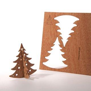 木製ポストカード(揺れるもみの木)