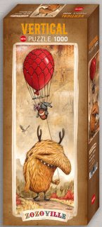 Red balloon ジグソーパズル 1000ピース  ZOZOVILLE