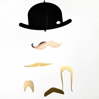 Mr.Mustache Gold Edition モビール<img class='new_mark_img2' src='https://img.shop-pro.jp/img/new/icons16.gif' style='border:none;display:inline;margin:0px;padding:0px;width:auto;' />