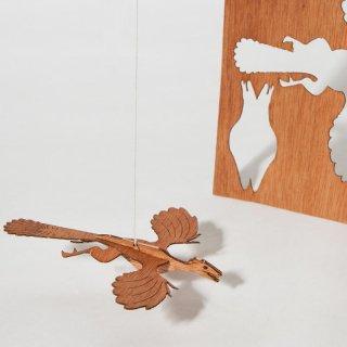 木製ポストカード(始祖鳥)
