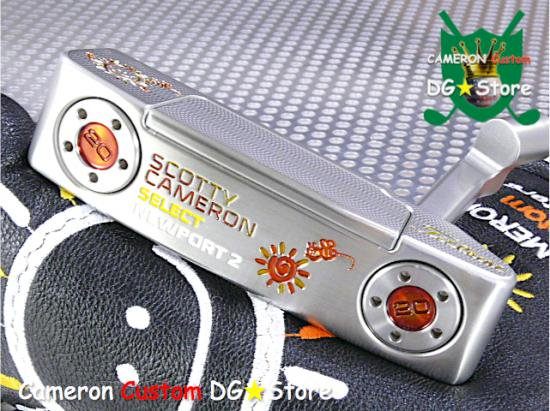 Scotty Cameron Custom 2016 Newport2 New Sunrise Smile Bee Limited