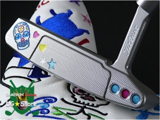<img class='new_mark_img1' src='https://img.shop-pro.jp/img/new/icons14.gif' style='border:none;display:inline;margin:0px;padding:0px;width:auto;' />Scotty Cameron Custom 2018 Newport2 Funky! Skull Mexican Limited