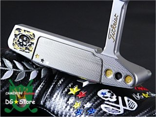 <img class='new_mark_img1' src='https://img.shop-pro.jp/img/new/icons15.gif' style='border:none;display:inline;margin:0px;padding:0px;width:auto;' />Scotty Cameron Custom 2018 Newport2 Skull Camo Gold Rev. Limited