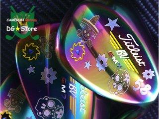 <img class='new_mark_img1' src='https://img.shop-pro.jp/img/new/icons24.gif' style='border:none;display:inline;margin:0px;padding:0px;width:auto;' />【最新・クリスマス特価】Titleist VOKEY SM7 Rainbow Mexican Skull Custom Set
