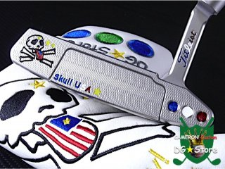 <img class='new_mark_img1' src='https://img.shop-pro.jp/img/new/icons14.gif' style='border:none;display:inline;margin:0px;padding:0px;width:auto;' />Scotty Cameron Custom 2018 Newport2 Skull Flag-T Rev. Limited