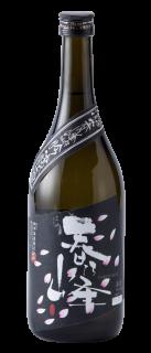 吟醸酒「春乃峰(はるのみね)黒ラベル」720ml