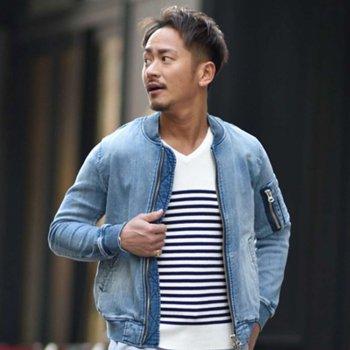 ★SALE20%OFF★【シンタロウ君着用】リブニット