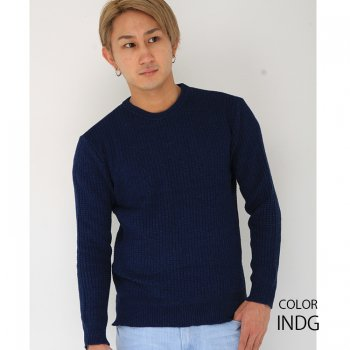 ★SALE50%OFF★7G INDIGOニット