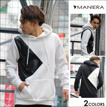 <img class='new_mark_img1' src='https://img.shop-pro.jp/img/new/icons20.gif' style='border:none;display:inline;margin:0px;padding:0px;width:auto;' />30%OFF【MANIERA】裏起毛PU切り替えPK / 全2色