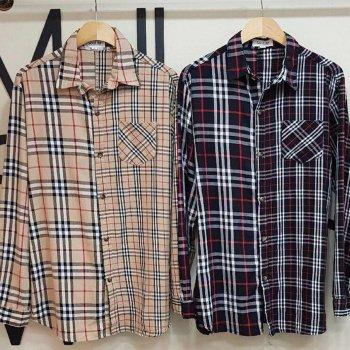 2パターン チェックシャツ