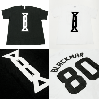 BLACKMAR numbering オーバーサイズTシャツ(BLACK/WHITE)