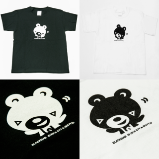 BLACKMAR kids Tシャツ(BLACK/WHITE) (目安サイズ120cm~140cm)