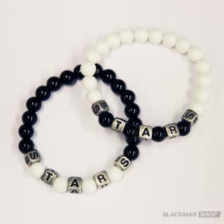 S.T.A.R.S. BLACK & WHITE ブレスレット(2個セット)