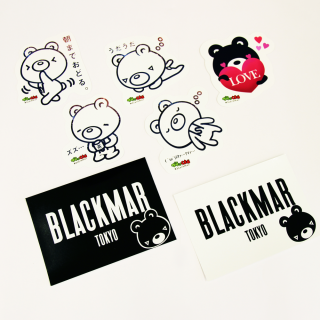 BLACKMAR Sticker(全7種)