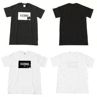 BLACKMAR TOKYO Tシャツ(BLACK/WHITE)