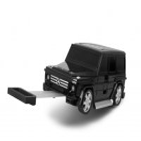 Ridazライダース Mercedes Benz メルセデスベンツ Gクラス【ホワイト/レッド/ブラック/グレー】 子供用キャリーケース
