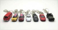 キーチェーン 2個セット Minicooper S ミニクーパーS Volkswagen Bus ポルシェカレラ  【全7タイプ】からお選び頂けます!