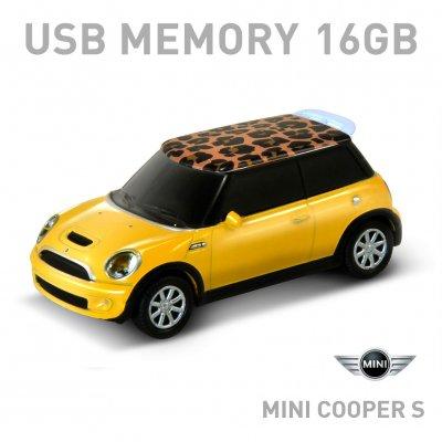 【16GB】Mini Cooper S ミニクーパー サファリイエロー(レオパード)