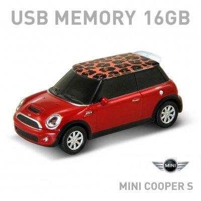 【16GB】Mini Cooper S ミニクーパー サファリレッド(レオパード)