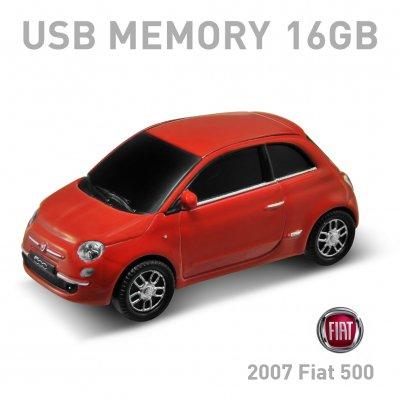 【16GB】2007 Fiat 500 レッド