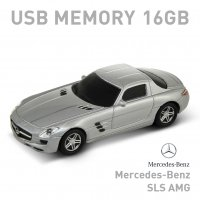 【16GB】Mercedes Benz SLS AMG シルバー