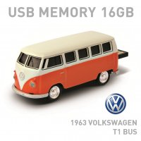 【16GB】Volkswagen Classical Bus バス オレンジ