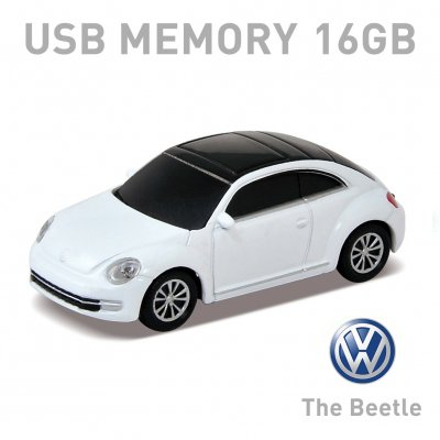 【16GB】Volkswagen The Beetle ザ ビートル ホワイト