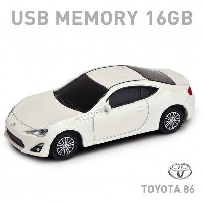 【16GB】トヨタ86 ハチロク パールホワイト