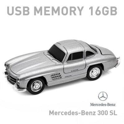 【16GB】Mercedes Benz メルセデスベンツ 300SL シルバー