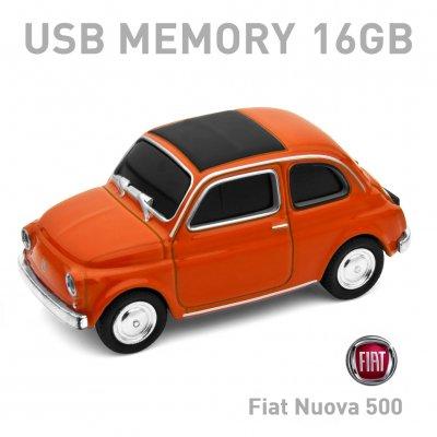 【16GB】Fiat Nuova 500 Old オレンジ