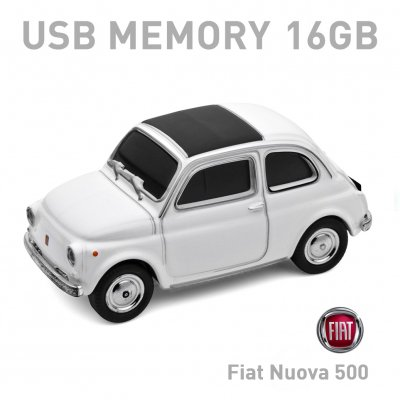 【16GB】Fiat Nuova 500 Old ホワイト