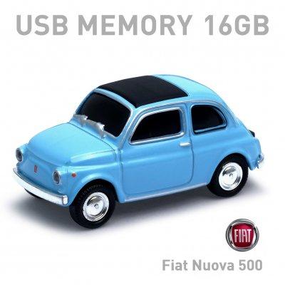 【16GB】Fiat Nuova 500 Old ブルー