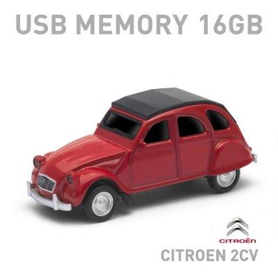 【16GB】シトロエン2CV USBメモリー 16GB レッド