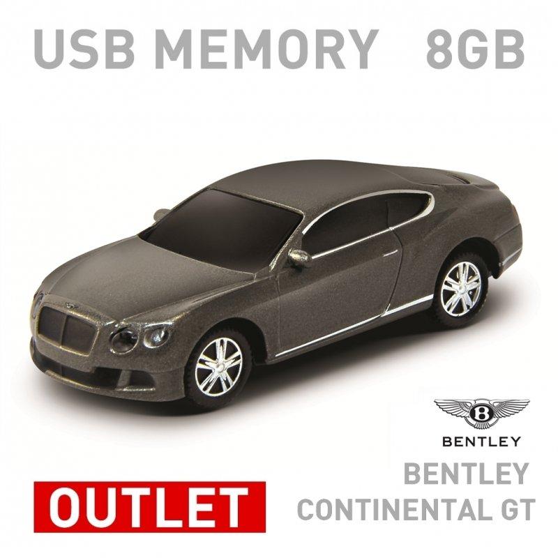 【箱ダメージアウトレット特価】ベントレー コンチネンタル GT グレー 8GB Bentley Continental GT White 8GB