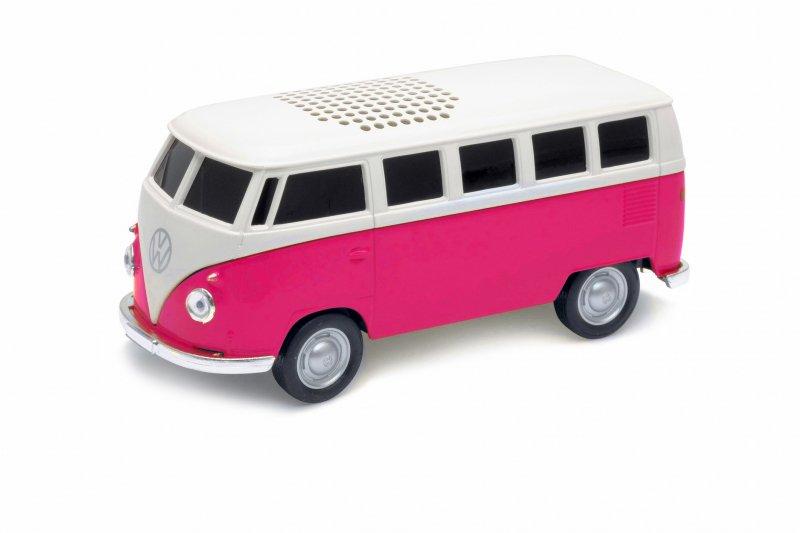 フォルクスワーゲン T1 バス  Bluetooth スピーカー ピンク(300点限定)