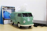 VWバス ティッシュケース Green 【グリーン】