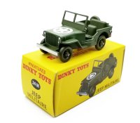 【DINKY TOYS】 JEEP MILITAIRE 【24M】