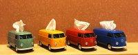 【2個セットでお得】vwバス  ティッシュケース2個セット 【5色からお選び下さい】