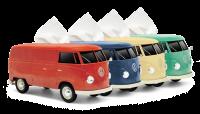 【2個セットでお得】VWバス  ティッシュケース+(プラス) カップホルダー付き 2個セット