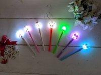 特別価格!!【ボールペン】 光るフィギュア付きペン 全7種